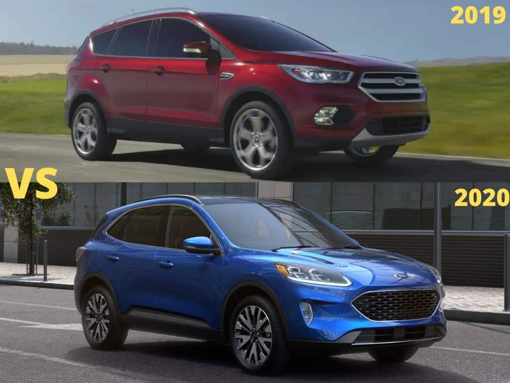 2020 vs 2019 ford escape