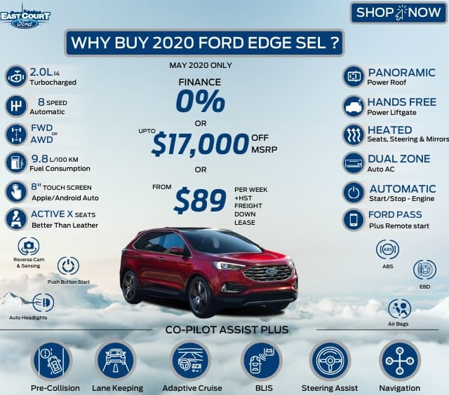 buy 2020 ford edge sel